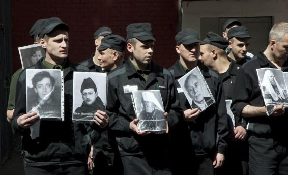 Бессмертный полк в Бутырском централе