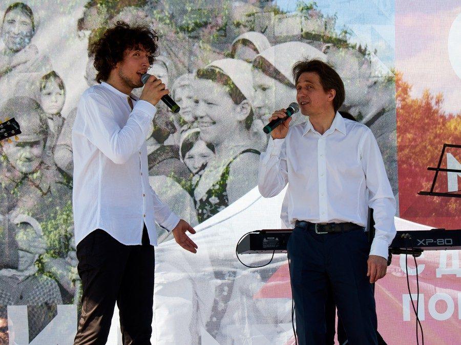 Концерт ансамбля «Славься, Отечество!» в Измайлово