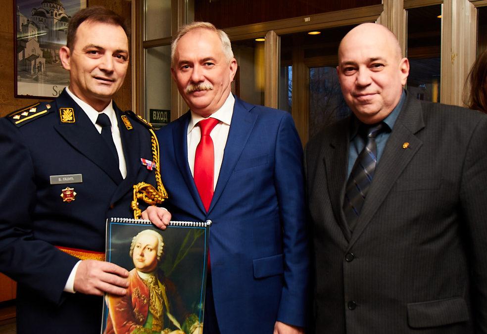 Торжественный прием в посольстве Сербии в Москве, посвященный празднику государственности и Дню сербской армии