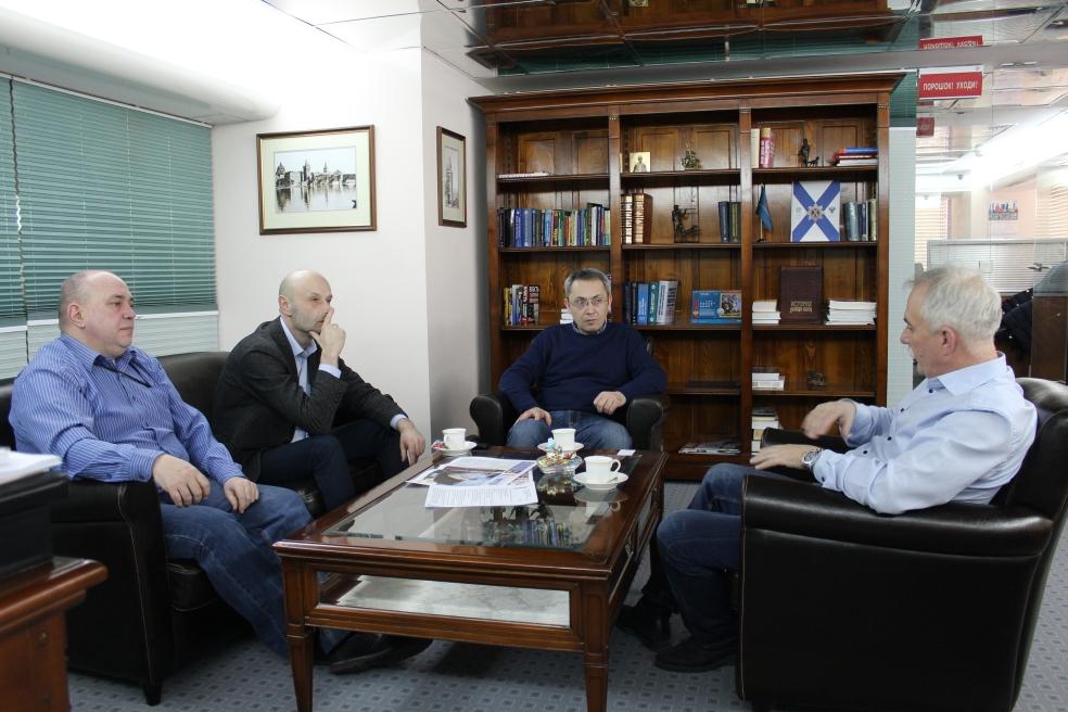 Встреча с исполнительным директором Фонда греческих исследований, историком Агафангелосом Гкиуртзидисом