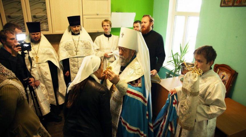 При поддержке Синодального отдела по благотворительности в Омске открылся епархиальный центр гуманитарной помощи