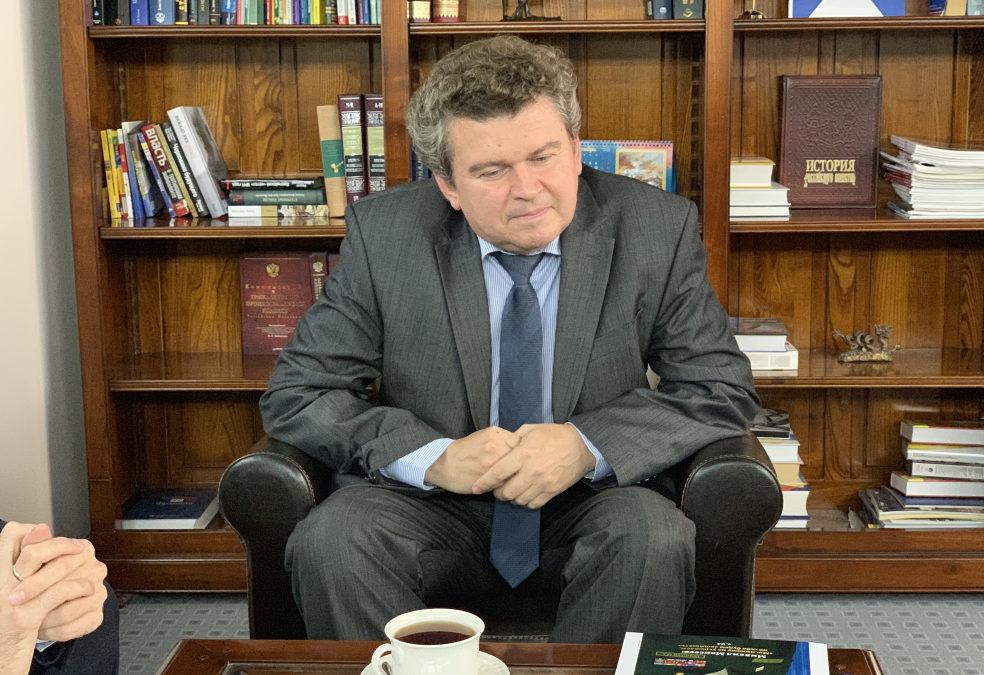 Встреча с Владиславом Петрушко