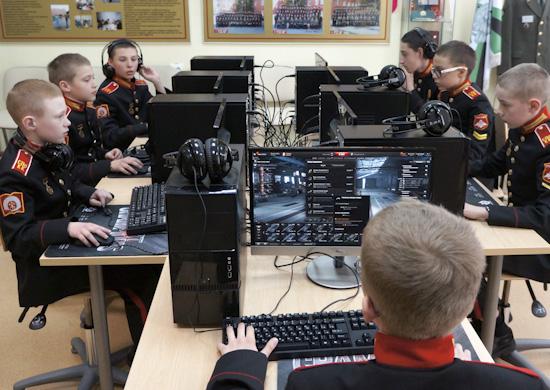 Столичные кадеты станут киберспортсменами