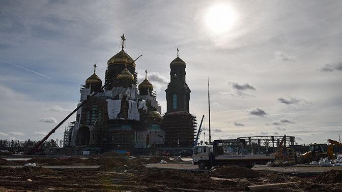 Министр обороны РФ Сергей Шойгу рассказал о значении Главного храма Вооруженных сил