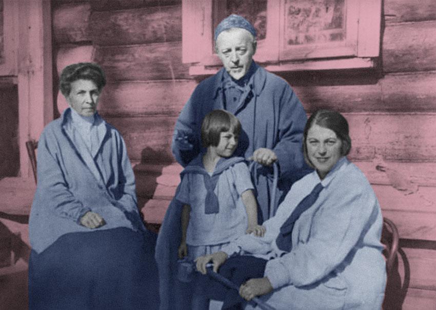 В московской Библиотеке им. Н.А. Некрасова найдена неизвестная переписка семьи архитектора Шехтеля