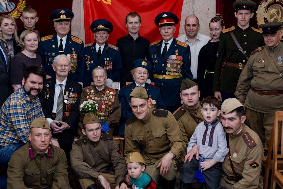 Торжественная встреча с ветеранами Великой Отечественной войны прошла в культурно-досуговом центре «Орбита»