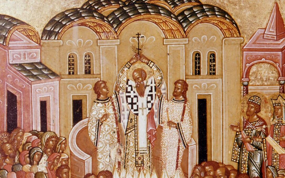 В России отмечают праздник Воздвижения креста Господня
