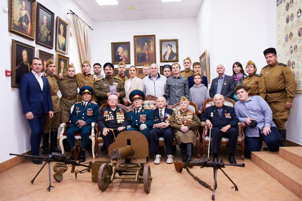 В Московском доме национальностей состоялась торжественная встреча с ветеранами Великой Отечественной войны